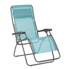 Blauwe Lafuma relaxstoel Lac