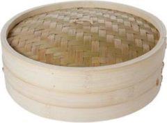 Bruine Cosy&Trendy Cosy & Trendy Stoommand Bamboe Ø 30 Cm