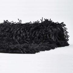Zwarte Aquanova Badmat KEMEN Black-09 - Afm.60x100cm