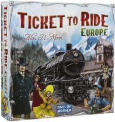 Days of Wonder Ticket To Ride Europa - Bordspel