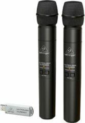 Behringer ULTRALINK ULM202USB draadloos handheld systeem (2.4 GHz)