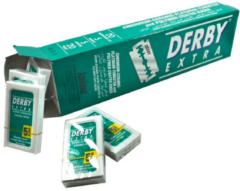 Zilveren Derby Professional Derby Extra Scheermesjes 100 stuks Double Edge Blades