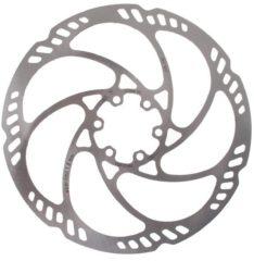 Zilveren Magura Storm HC Remschijf 6-voudig, silver Diameter 180mm