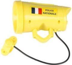 Eddy Toys Toys Fietssirene Franse Politie Jongens 12 Cm Geel