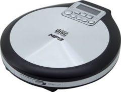 Soundmaster CD9220 Discman CD/MP3 Player mit ESP, Akkulade- und Hörbuchfunktion