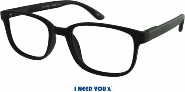 Afbeelding van I NEED YOU leesbril Rainbow +2.5 zwart