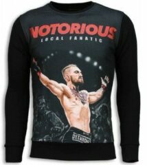 Zwarte Sweaters Local Fanatic Notorious McGregor - Sweater
