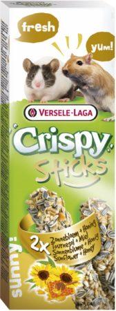 Afbeelding van Versele-Laga Crispy Sticks Gerbil&Muis Zonnebloem - Knaagdiersnack - Natuur 2x55 g