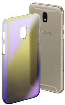 """Afbeelding van """"Hama Cover """"""""Mirror"""""""" voor Samsung Galaxy J7 (2017), geel/lila"""""""