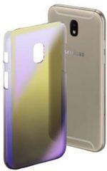 """""""Hama Cover """"""""Mirror"""""""" voor Samsung Galaxy J7 (2017), geel/lila"""""""