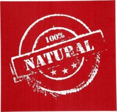 Witte Creotime screen stencil 100% natural 20 x 22 cm