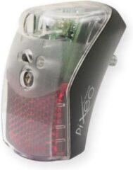 Transparante Achterlicht SPANNINGA Pixeo XB voor spatbordmontage (werkplaatsverpakking)