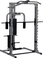 Grijze Body-Solid Grey Linear Bearing Smith Machine - Basis