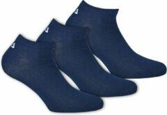 Blauwe Fila - Invisible Socks 3-Pack - Unisex - maat 35-38