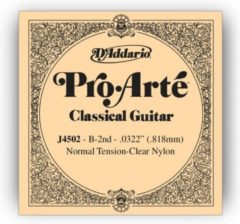 D'Addario J4502 H2 Pro Arte enkele snaar Normal Tension 0322/J45
