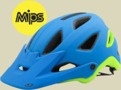 Giro Montaro Mips Herren Fahrradhelm Kopfumfang L 59-63 cm matte blue/lime
