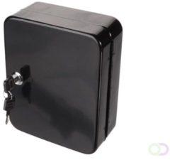 Zwarte Merkloos / Sans marque SLEUTELKAST - 160 x 200 x 60 mm - 20 SLEUTELS