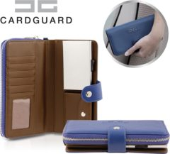 Blauwe Card Guard kaartbeschermer Card Guard Protector Wallet Portemonnee Kaarthouder - Anti-diefstal portemonnee