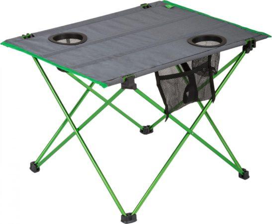 Afbeelding van Highlander Vouwtafel 57 X 42 Cm Aluminium/polyester Groen/grijs