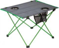 Highlander Vouwtafel 57 X 42 Cm Aluminium/polyester Groen/grijs