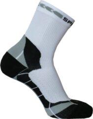 Grijze Spring Prevention Socks Short M White/Grey
