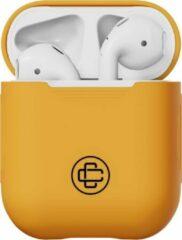 Case Closed Airpods Case - Silicone - Oranje