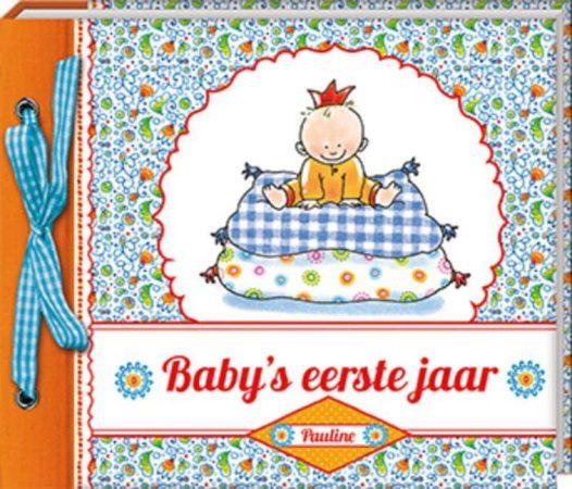 Afbeelding van Imagebooks/Allmedia Baby's eerste jaar Pauline Oud - Hardcover - Plakboek - 21 x 19 x 2,5 cm