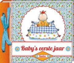 Imagebooks/Allmedia Baby's eerste jaar Pauline Oud - Hardcover - Plakboek - 21 x 19 x 2,5 cm
