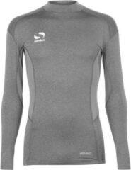 Sondico ondershirt - Thermoshirt met opstaande kraag - Heren - Grijs - XXL