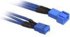 BitFenix BFA-MSC-3F60BB-RP kabeladapter/verloopstukje 3-pin Blauw