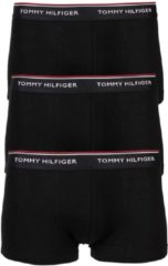 Zwarte TOMMY HILFIGER SHORT 3 PACK EUROPE LOW RISE TRUNK BLACK H 1U87903841-990-Small