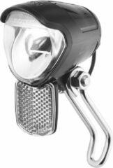 Zwarte BUSCH & MÜLLER Bumm Lumotec IQ Avy E LED koplamp 40 lux m/refl. 162R42