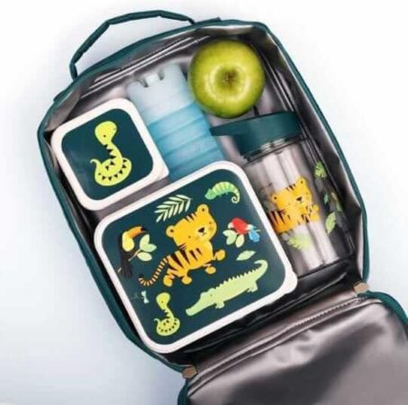 Afbeelding van Little Lovely koeltas Jungle junior 6 liter polyester/PVC groen