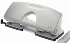 Leitz Meervoudige perforator 5022-00-85 Aantal bladen (max.):40 blad (80 g/m²) Aantal segmenten:4 Grijs 1 stuks