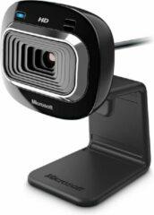 Zwarte Microsoft LifeCam HD-3000 WIN - Webcam / USB 2.0