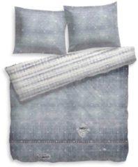 Heckettlane Heckett & Lane Meggy Dekbedovertrek - Eenpersoons - 140x200/220 cm - Blauw