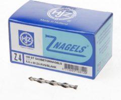 Roestvrijstalen Z-Nagels/HJZ Gasbetonnagels RVS A2 6.0x60mm 100 stuks