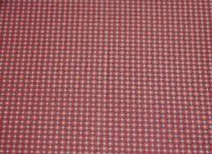 Roze Pip Studio hoeslaken Cross Stitch pink - 90x200 cm