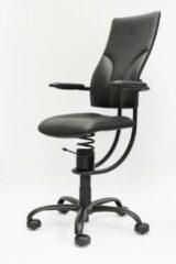 Zwarte Spinalis Apollo Ergonomische bureaustoel - balansstoel