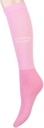 Afbeelding van Stapp Horse Kniekous Horse Ultra Fine 3-Pack - Ruiterkleding - Pink 36-42
