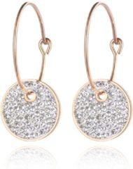 Roze Cilla Jewels Dames oorbellen Crystal Storms