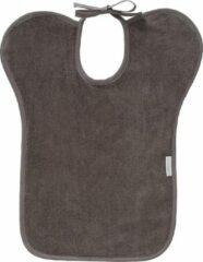 Donkergrijze Cottoncare Slab XL bamboekatoen grijs met waterdichte achterkant PUL - Hulpmiddelen voor gehandicapten