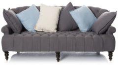 Sofa mit farbigen Kissen IMPRESSIONEN living grau/bunt