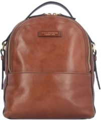 The Bridge Pearldistrict Rucksack 1247 Marrone (innen: Rot)