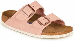 Roze Slippers Birkenstock ARIZONA SFB LEATHER
