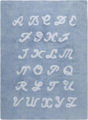 Beige Lorena Canals ABC alfabet 100% katoen - vloerkleed - 120x160cm