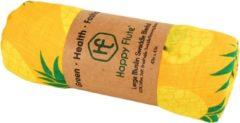 Happy Flute Swaddle doek XL - Ananas Geel | Inbaderdoek | Hydrofiele doek | Hydrofiele luier | Gratis verzending | Kidzstore.eu