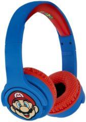 Rode Super Mario Bluetooth Koptelefoon / Headset voor Kinderen