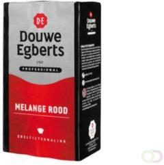 Rode Koffie Douwe Egberts snelfiltermaling Roodmerk 500gr