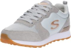 Licht-grijze Skechers Retros Og 85 Goldn Gurl Dames Sneakers - lichtgrijs - Maat 36
